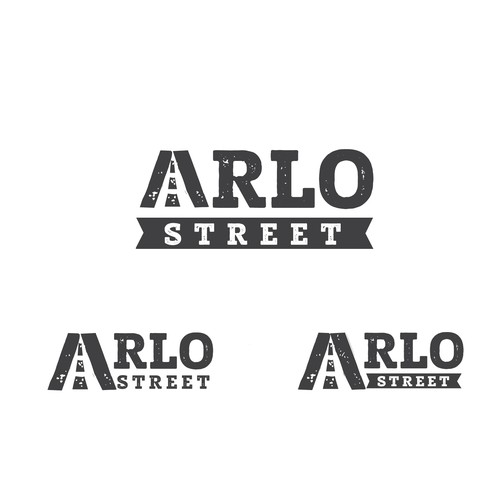 """Street style! logo for online children's clothing store. Smart use of the letter A symbolize company name."