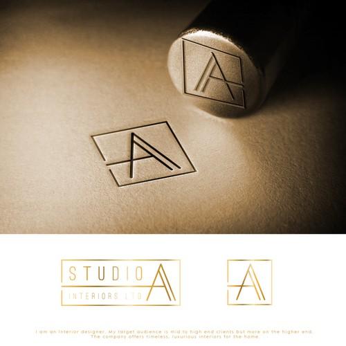 Logo for Luxury Interior Designer Firm