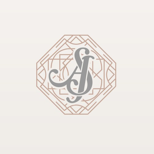 AS Monogram For Wedding