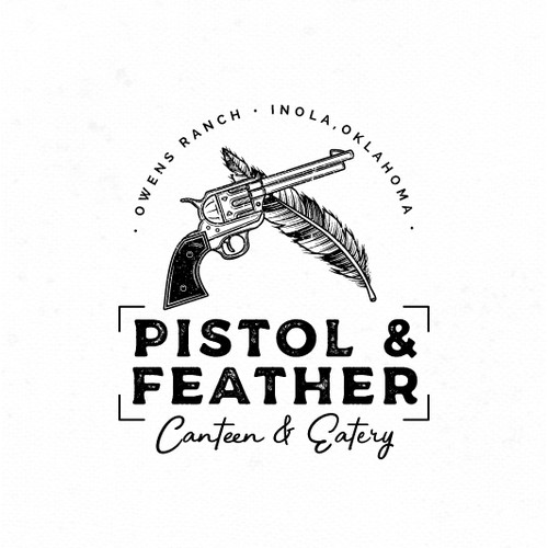 Vintage Logo for Restaurant and Bar.