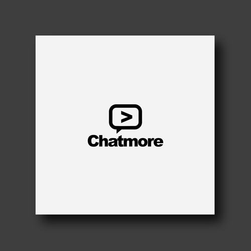 Bold logo concept for Chatmore