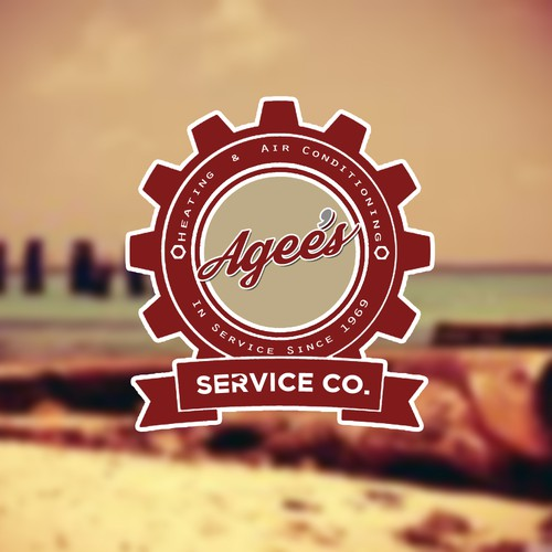 Create vintage logo for re-branded family owned a/c and heating company