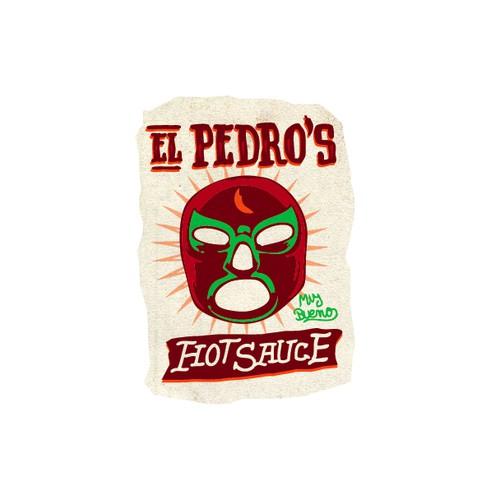 El Pedro's Hot Sauce needs a new logo