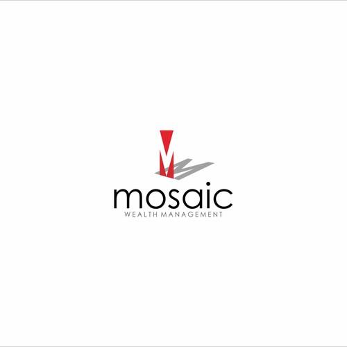 clean logo for mosaic
