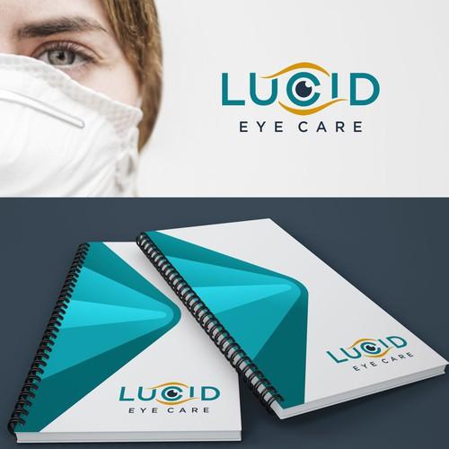 logo concept LUCID EYE CARE
