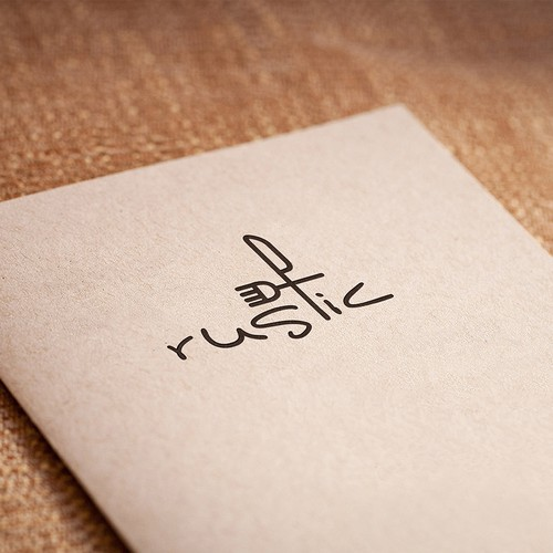 New logo for Rustic (restaurant)