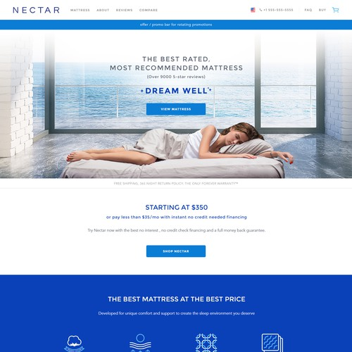 Design Nectar's Website
