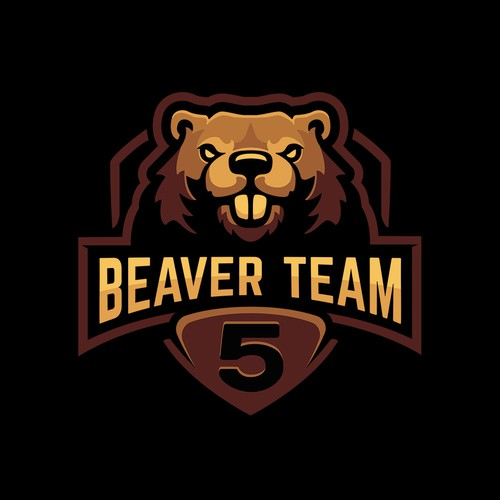 Logo for Beaver Team Five.