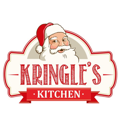 a Sign for Kringle's Kitchen