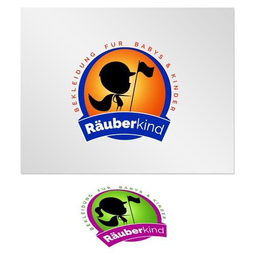logo concept for kids clothing line :D