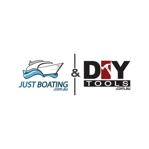 Billboard logo design required for Just Boating & DIY Tools