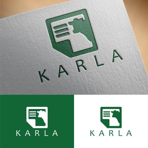 logo concept for Karla