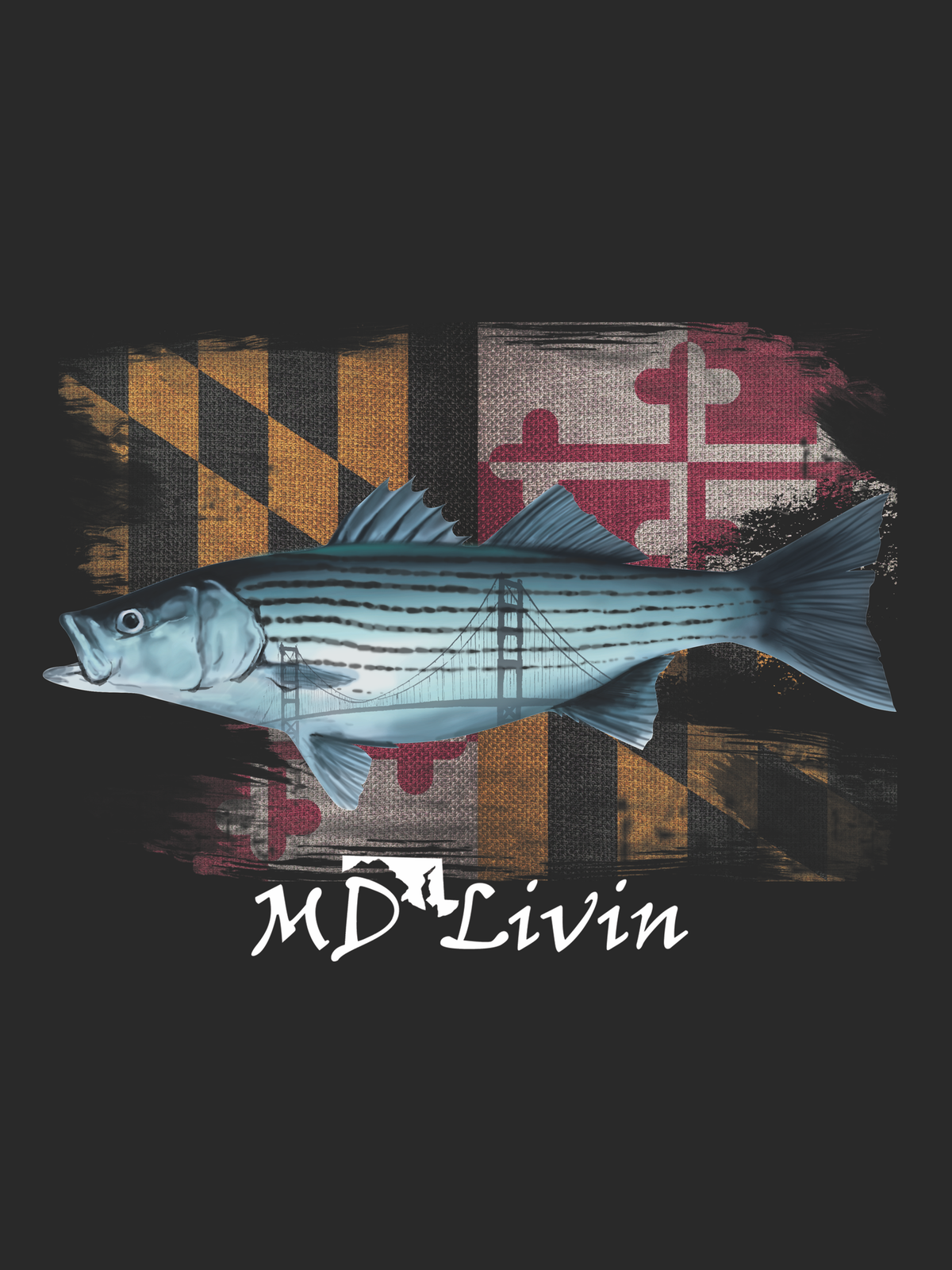 Rockfish MD Flag