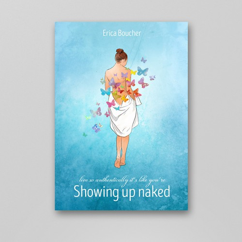 showing up naked book