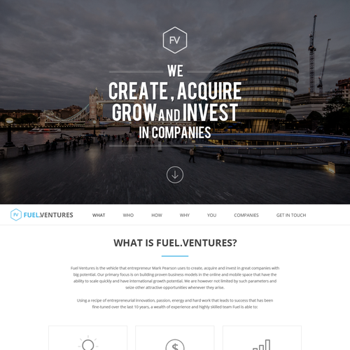 Fuel.Venture Website
