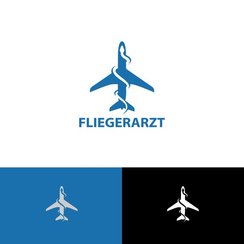 Logo for Fliegerarzt (doctor for pilots and flight attendants)