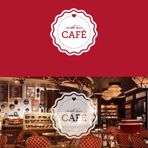 Logo for With Love Café