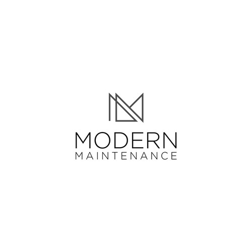 Logo concept for Modern Maintenance