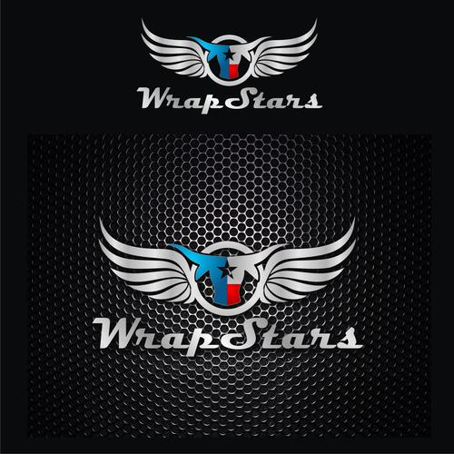 Create a winning logo design for WRAP STARS