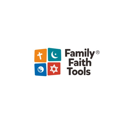 Logo for a religious toy store