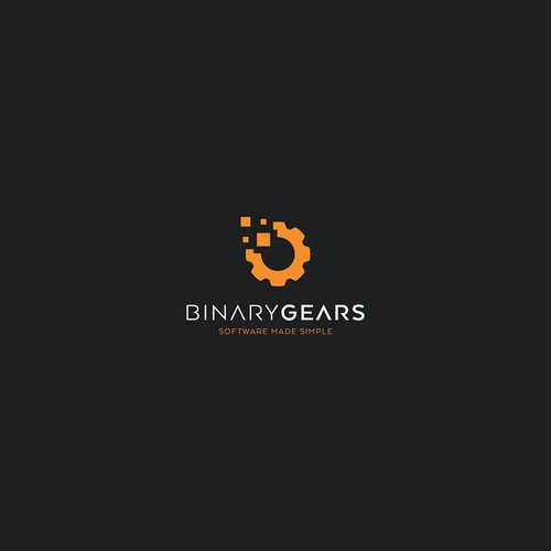 logo concept for Binary Gears