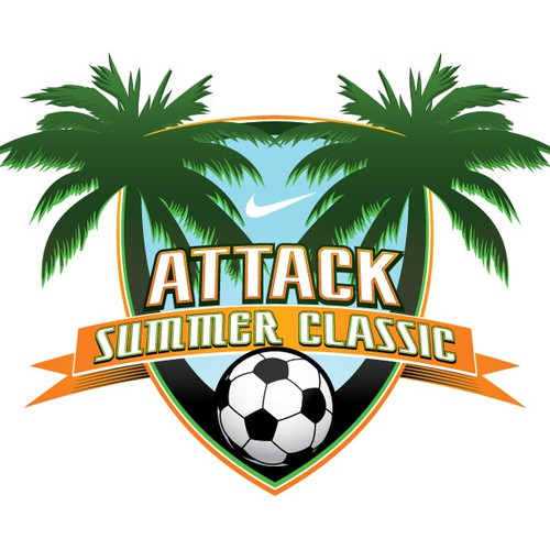 Attack Summer Classic Soccer Tournament Logo Design needs a new logo