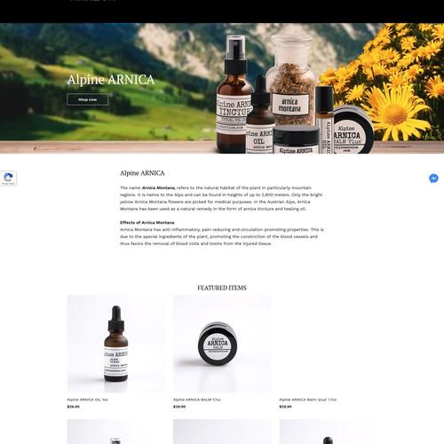 Weeblystore web page