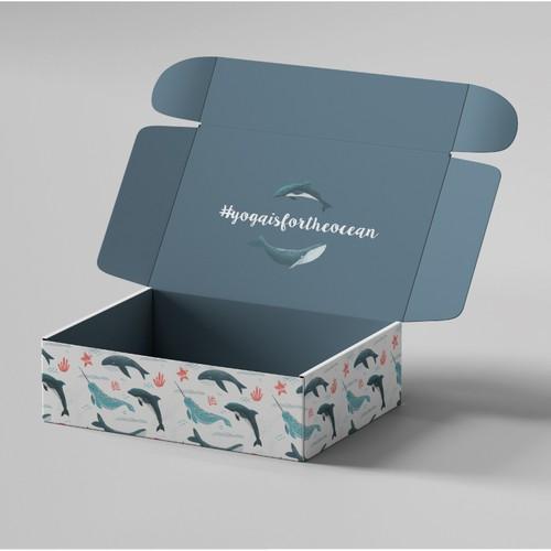 Ocean inspired packaging design
