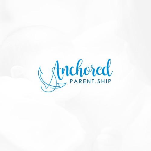 Anchored Parent.Ship Logo Design
