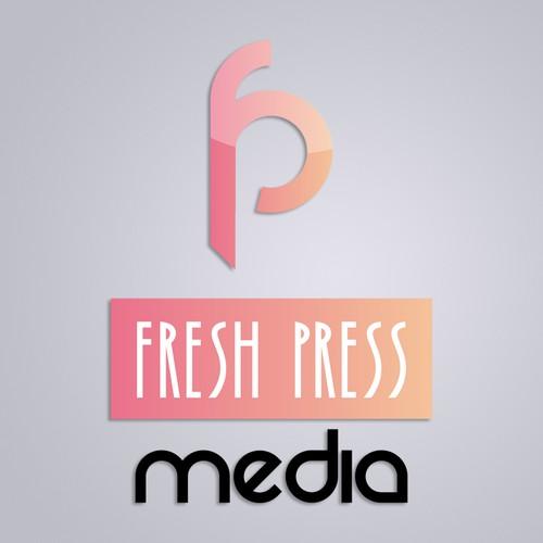 Logo design concept for Fresh Press