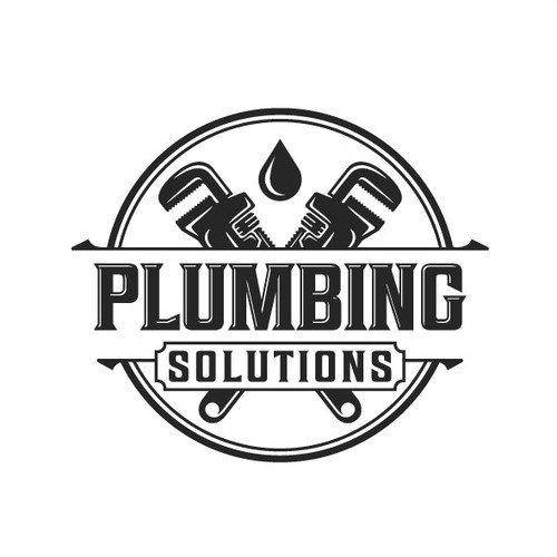 Solid logo concept for Plumbing Solutions.