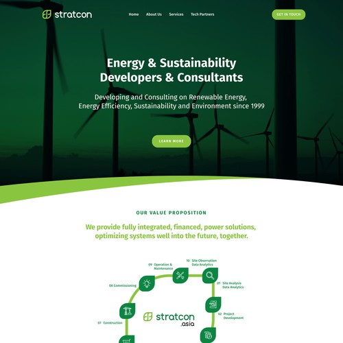 Stratcon | Website for an Energy and Sustainability Consultancy
