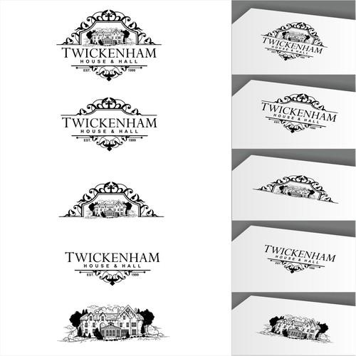 "Create a dramatic, simple, ""British"" design for Twickenham House"