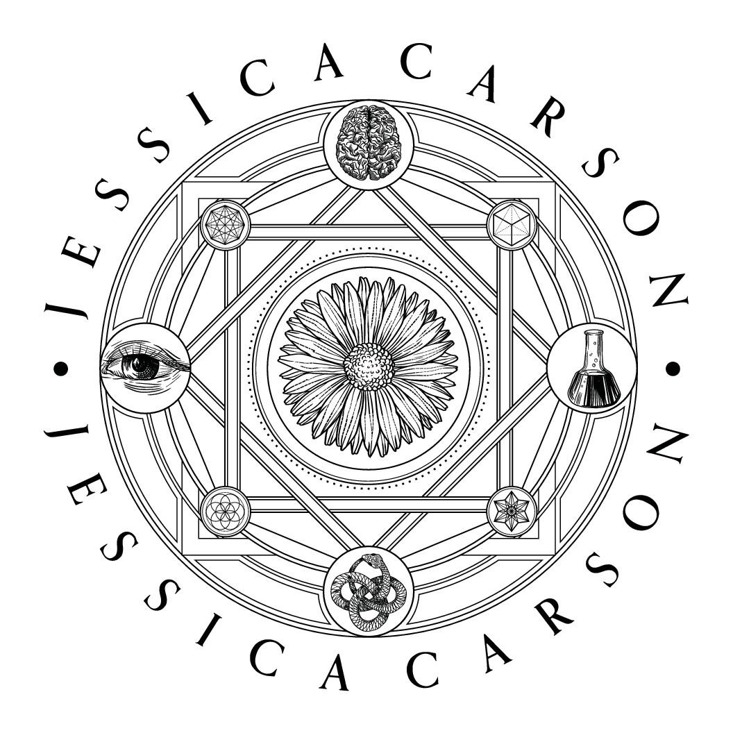 Logo for Author & Speaker ~ Psychology of Creators ~ Jungian Symbolism