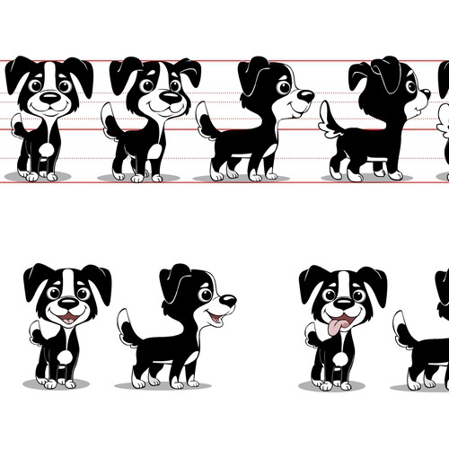 Plush Dog Doll Illustration