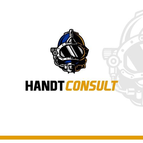 Helmet concept for logo HANDTCONSULT