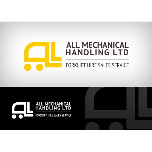 Help ALL MECHANICAL HANDLING LTD with a new Logo Design