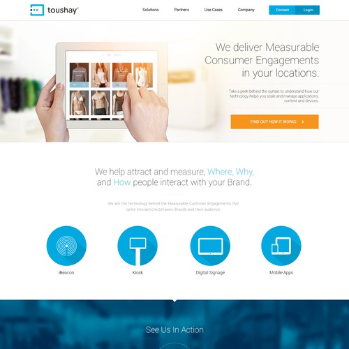 Website design for a Top 25 Startup!