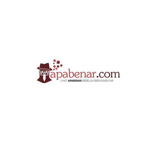 Logo consept for apabenar.com