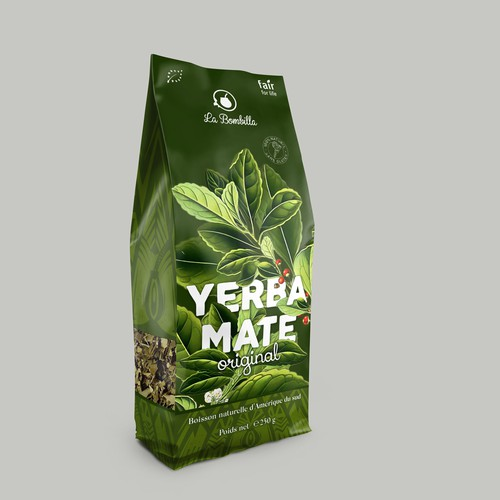 Yerba mate packaging
