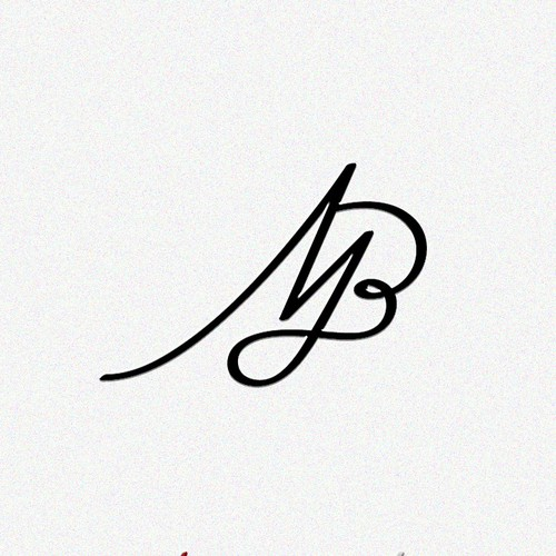 Modern monogram concept