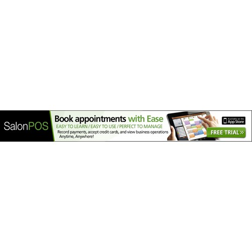 Create the next banner ad for SalonPOS