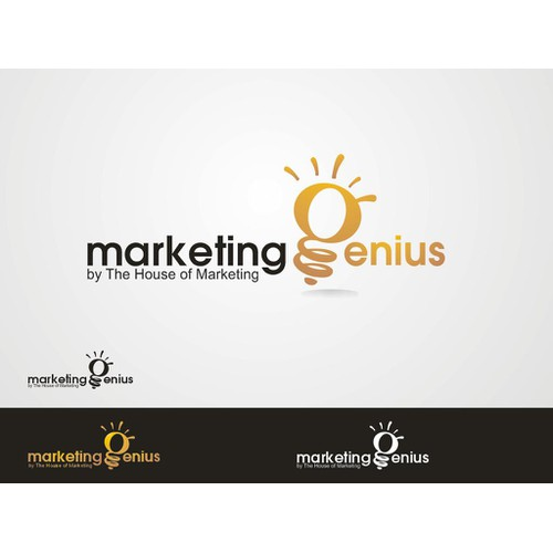 "Logo design for ""Marketing Genius"" contest for youngsters"