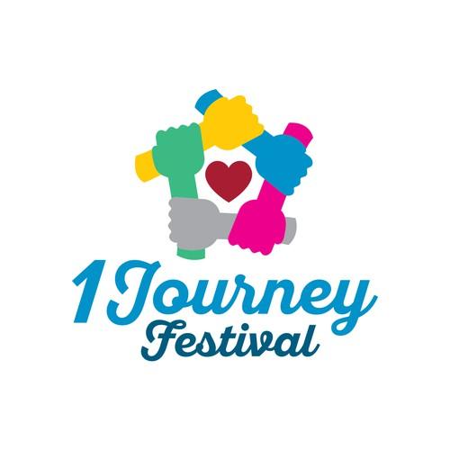 Logo Concept for 1 Journey Festival