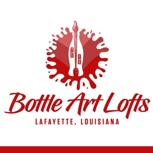 Logo concept for Bottle Art Lofts