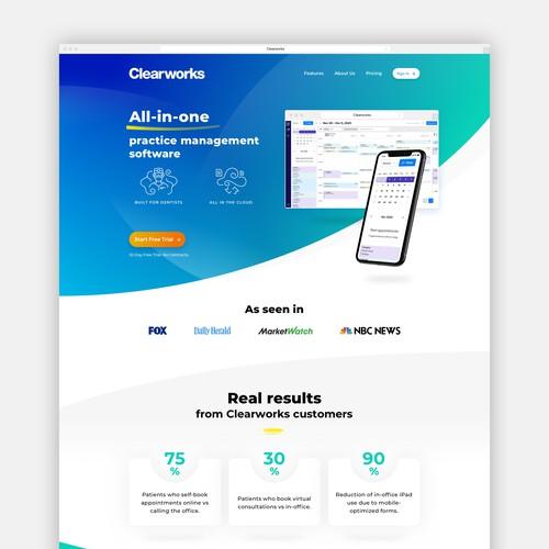Software developer website design