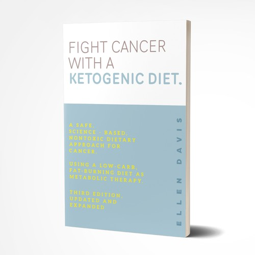 Book Cover for a Ketogenic Diet.