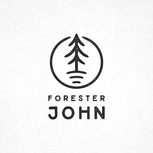 Hipster Logo for Forester John