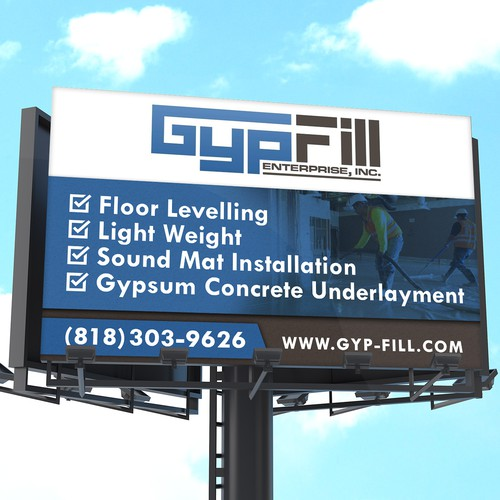 Signage Design for a Contractor