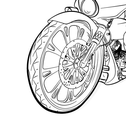 Cartoon Monkey Rider